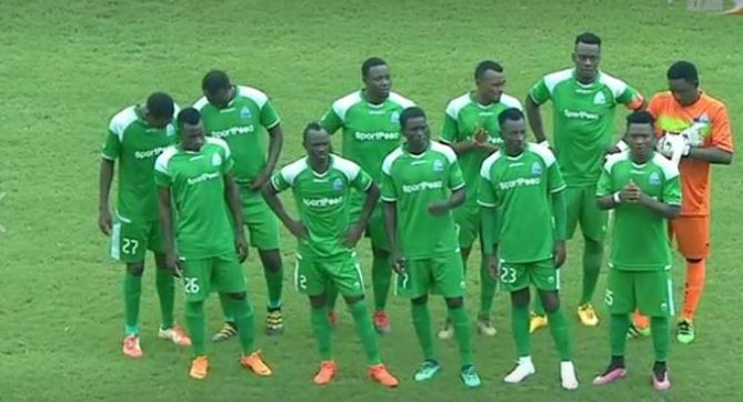 Gor Mahia at the 2018 CECAFA club cup