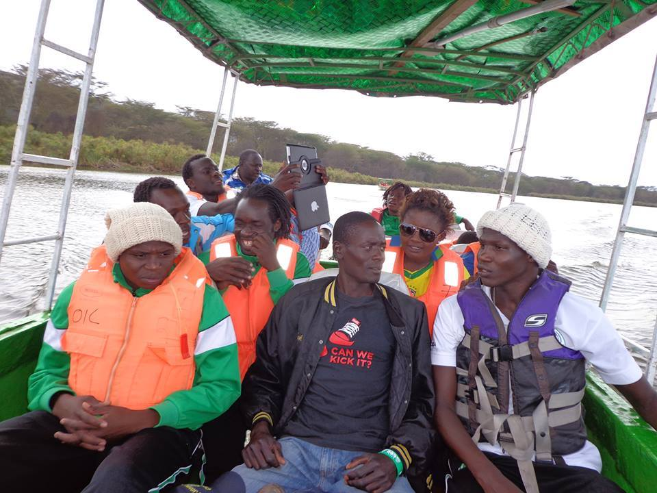 Gor Mahia at Fishermans camp Naivasha