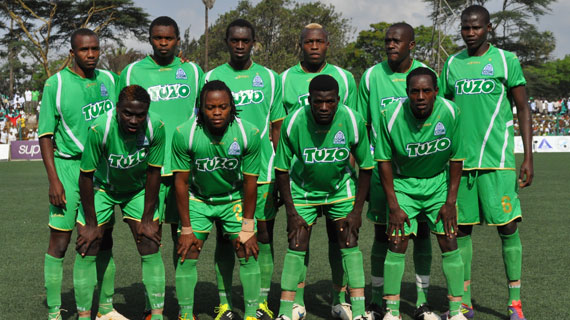Gor Mahia squad in 2011