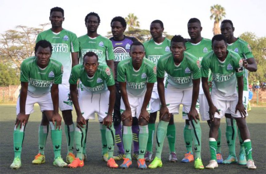 Gor Mahia early in 2015