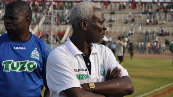 Bobby Ogolla Gor Mahia interin coach 2012